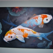 koi pond (sold)