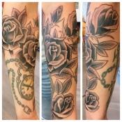arm roses